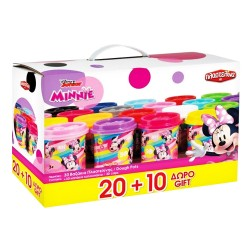 AS ΣΕΤ ΠΛΑΣΤΕΛΙΝΑ MINNIE ΣΕΤ 30 ΒΑΖΑΚΙΑ 1045-03590