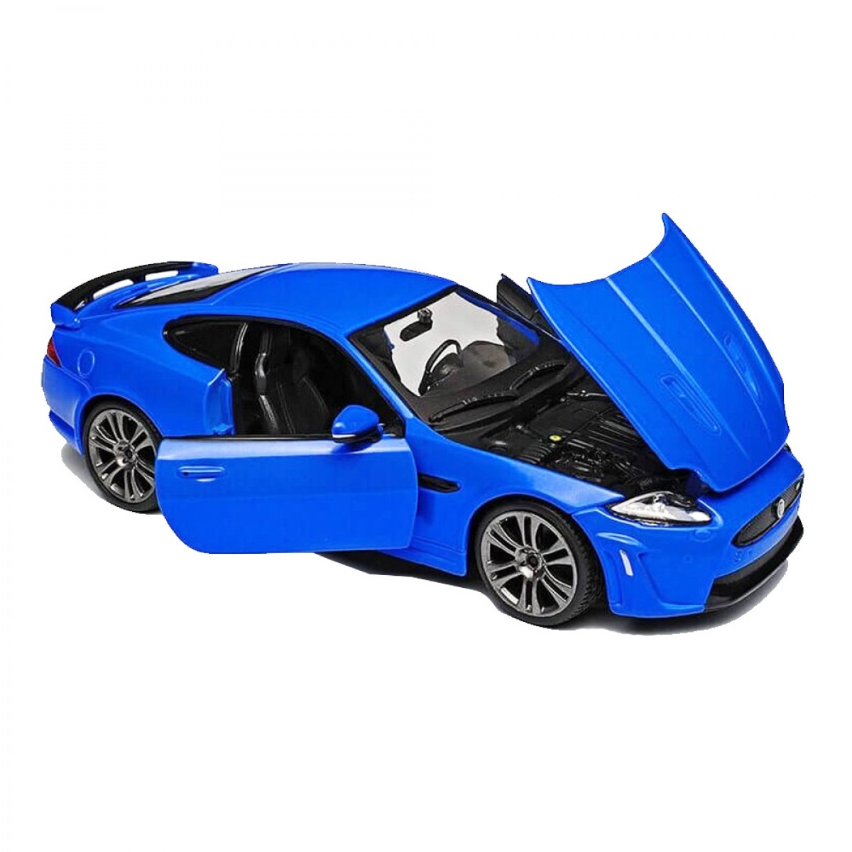 BURAGO ΜΕΤΑΛΛΙΚΑ ΑΥΤΟΚΙΝΗΤΑ 1/24 PLUS JAGUAR XKR-S BLUE 18-21063