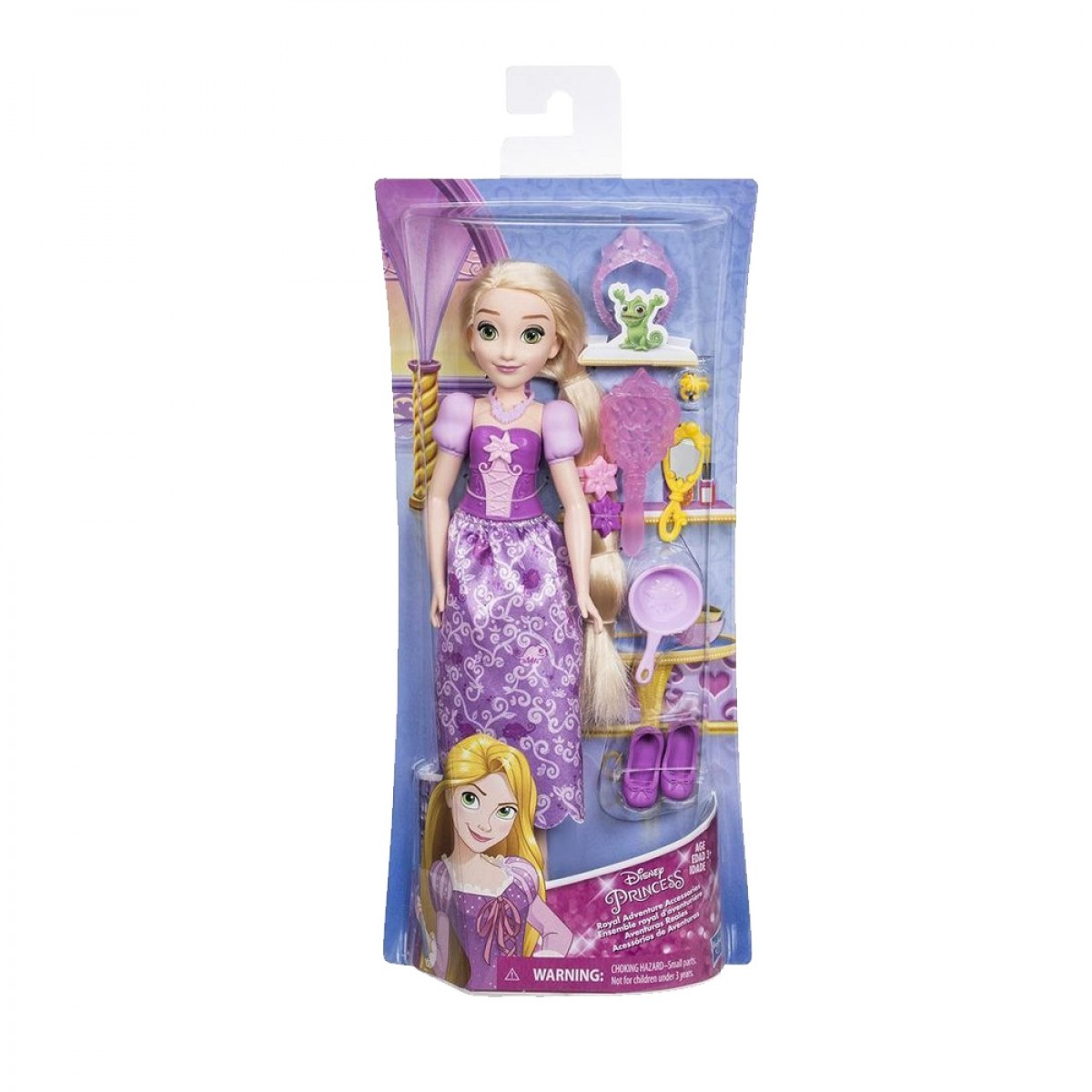 DISNEY PRINCESS DOLL WITH ACCESORIES 3048