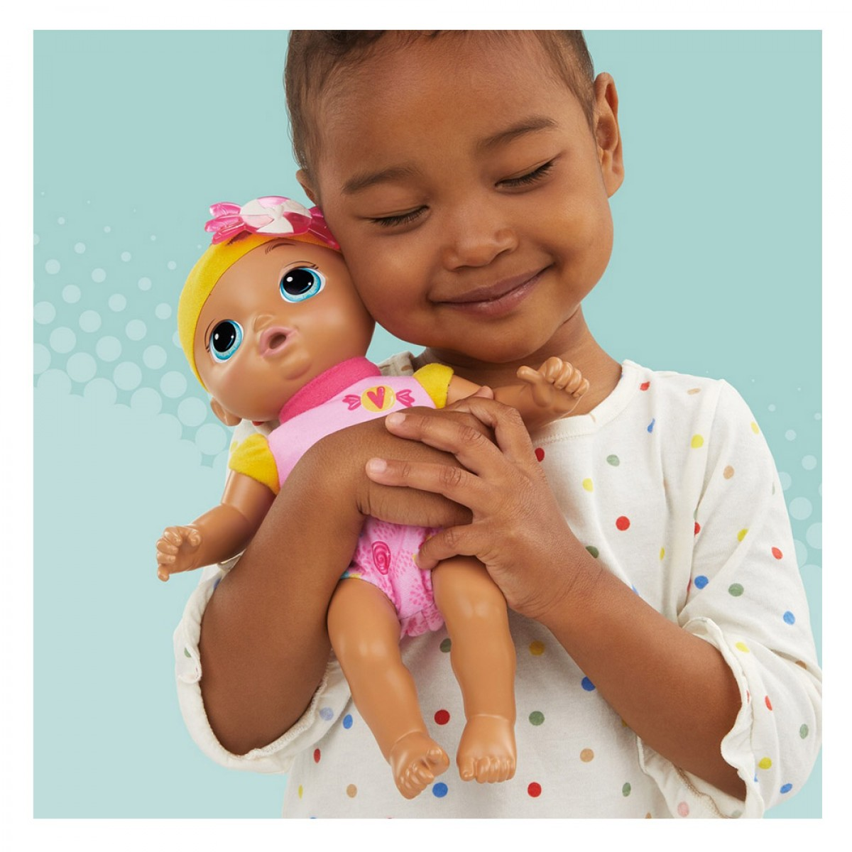BABY ALIVE SWEET N SNUGGLY BADY  7599