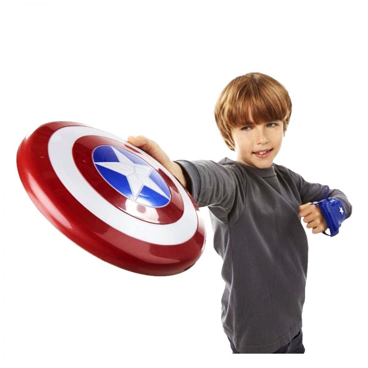 AVENGERS CAP MAGNETIC SHIELD AND GAUNTLET B9944