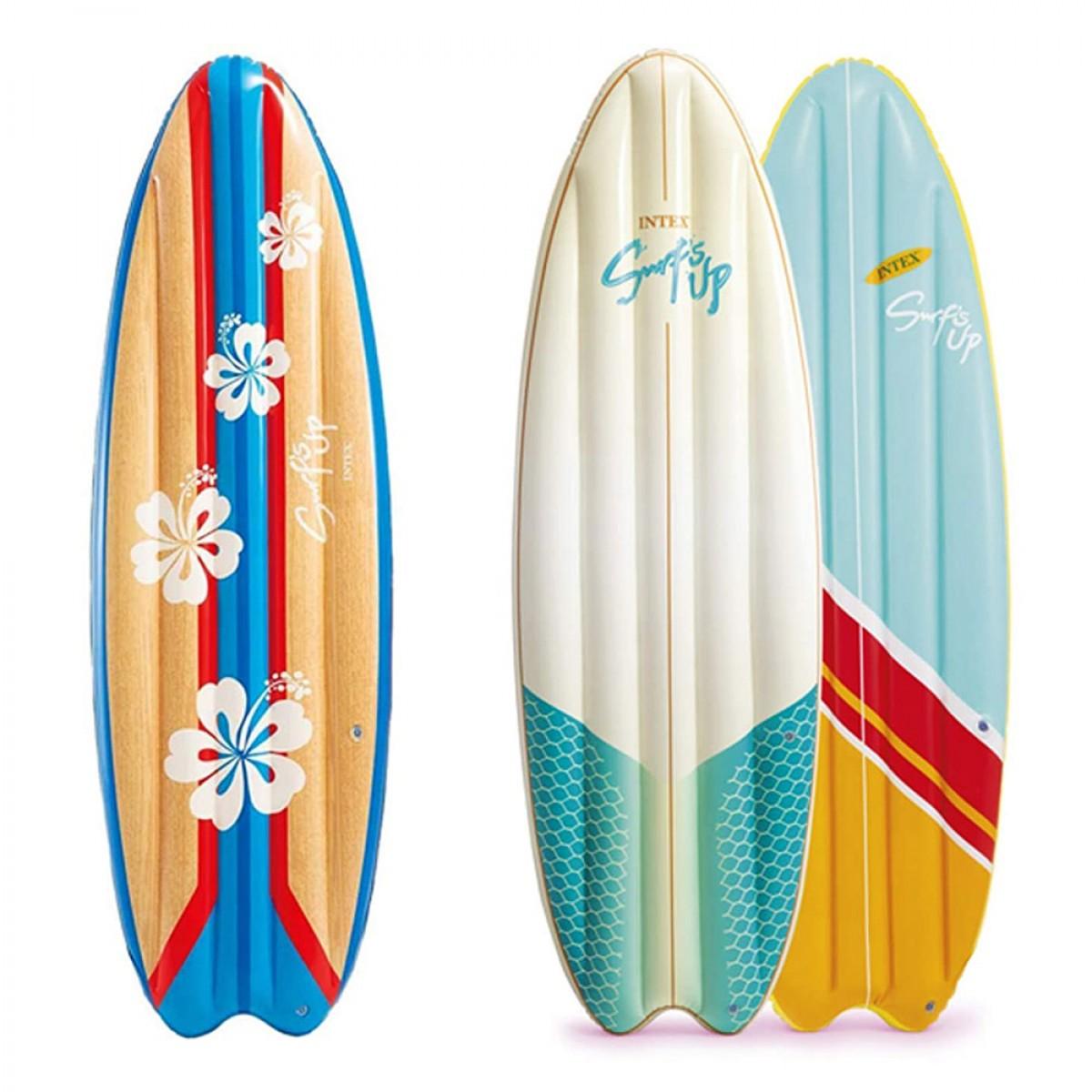 INTEX ΣΤΡΩΜΑ ΘΑΛΑΣΣΗΣ SURFS UP MATS 58152 (178X69 ΕΚ.)