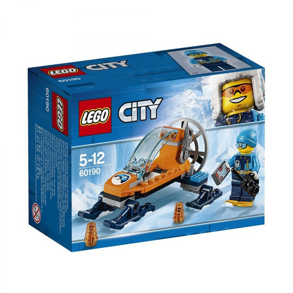 LEGO CITY ARTIC ICE GLIDER 60190