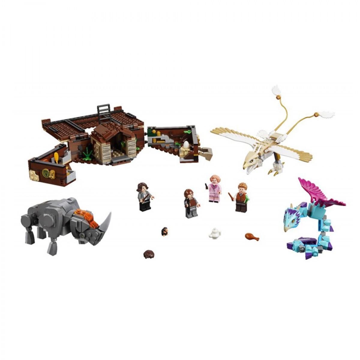 LEGO NEWTS CASE OF MAGICAL CREATURES NO75952