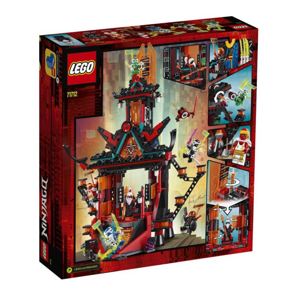 LEGO EMPIRE TEMPLE OF MADNESS 71712