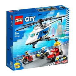 LEGO CITY POLICE HELICOPTER CHARE 60243
