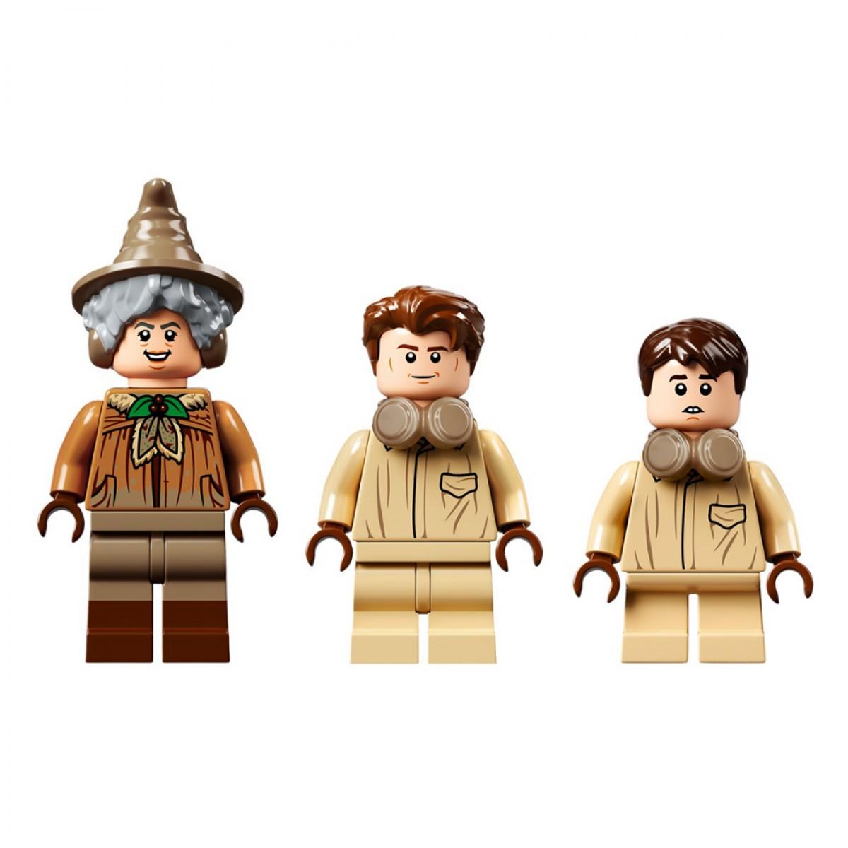 LEGO HOGWARTS MOMENT HERBOLOGY CLASS 76384