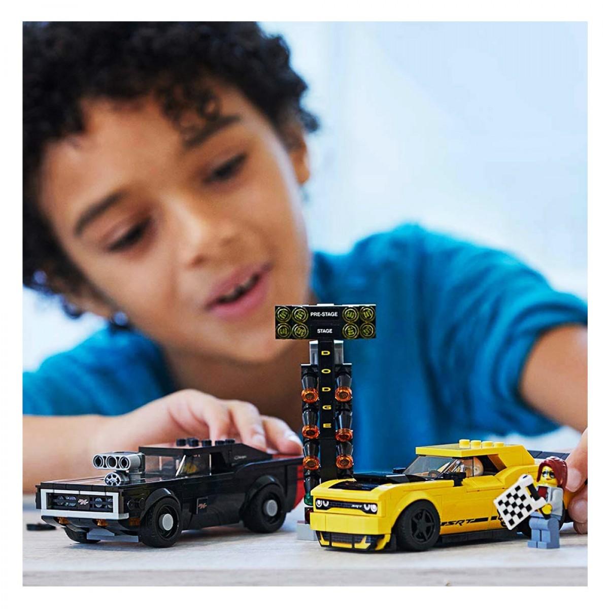 LEGO 2018 DODGE CHALLENGER SRT DEMON 75893