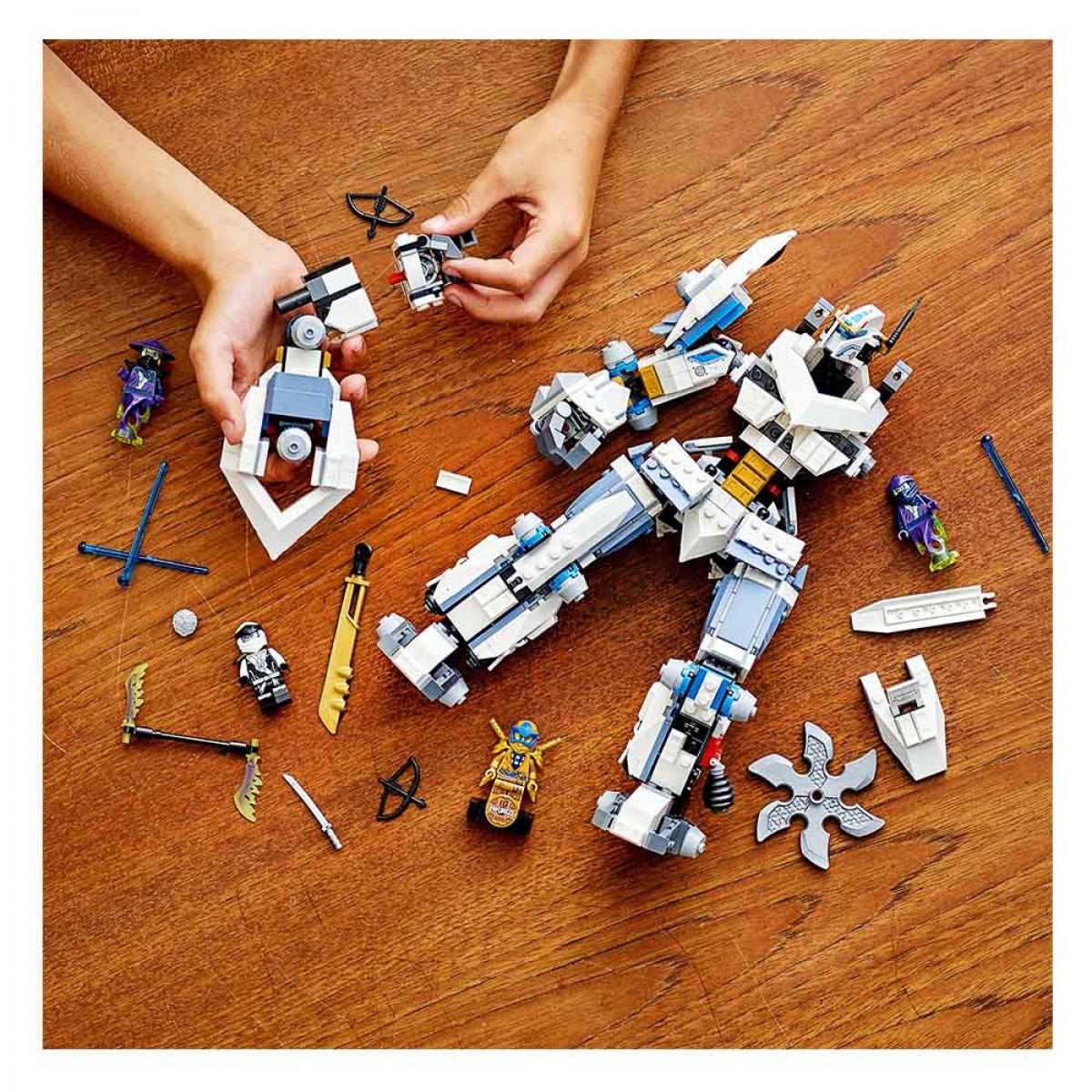 LEGO ZANE'S TITAN BATTLE 71738