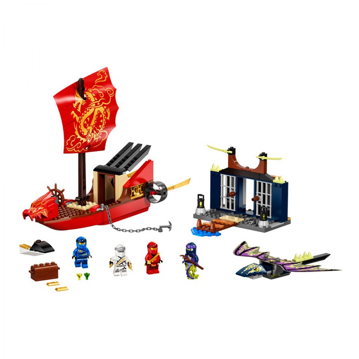 LEGO FINAL FLIGHT OF DESTINYS BOUNTY  71749