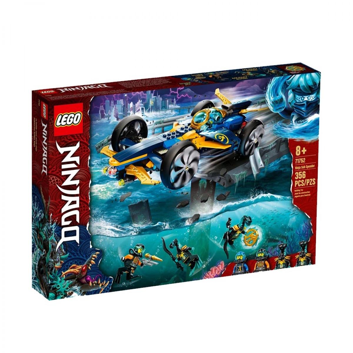 LEGO NINJA SUB SPEEDER  71752