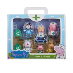 PEPPA AND FRIENDS NURSE FIGURES PPC95000