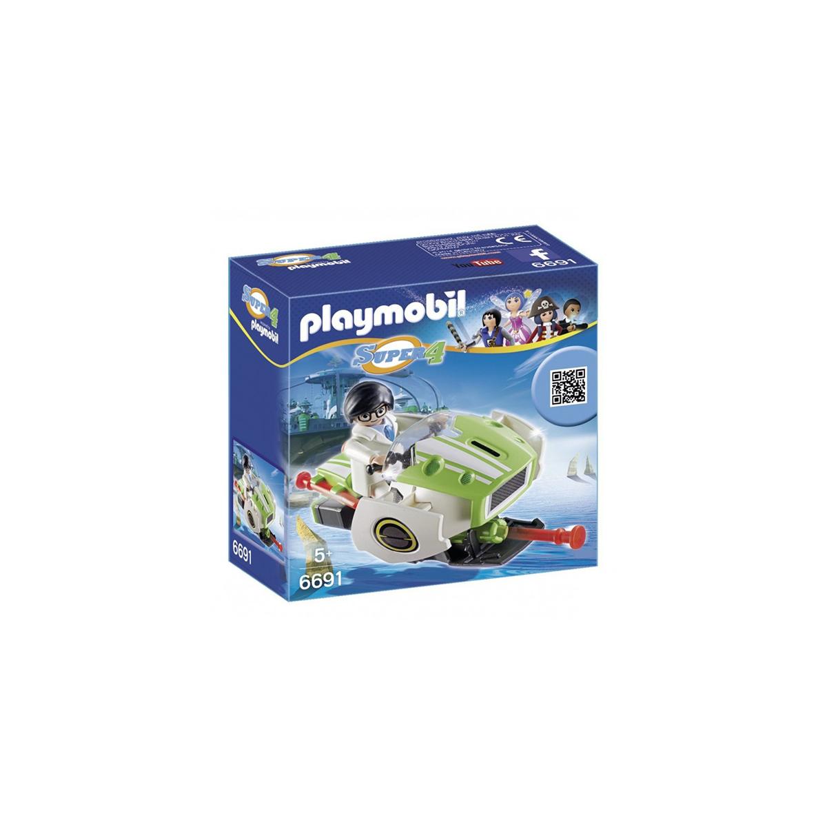 PLAYMOBIL SUPER 4 SKY JET 6691
