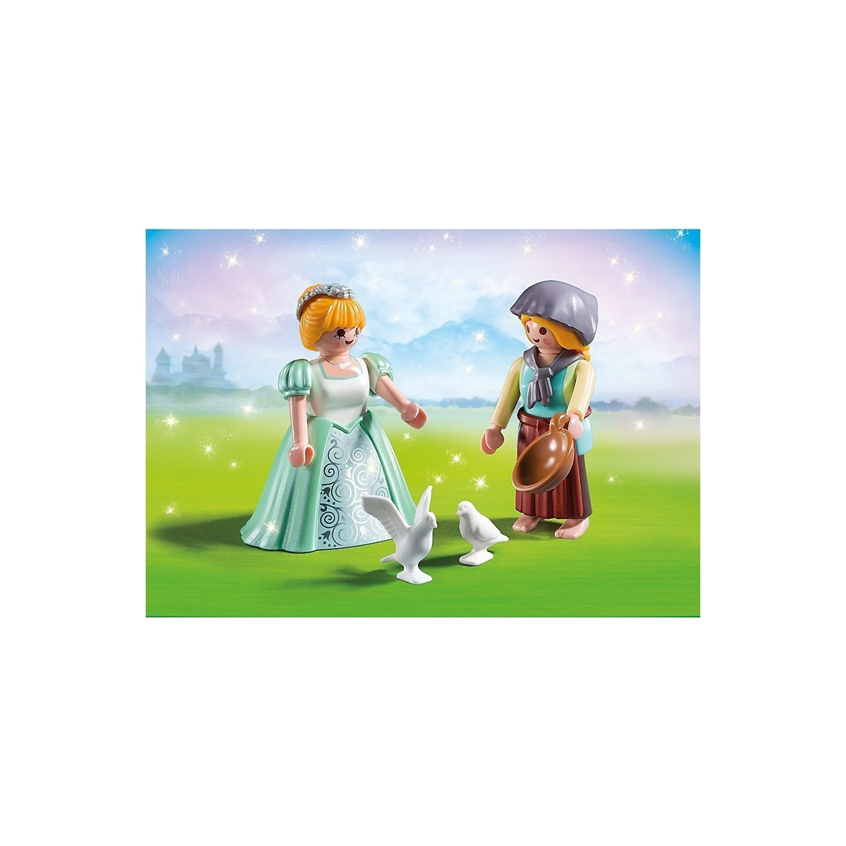PLAYMOBIL DUO PACK ΠΡΙΓΚΙΠΙΣΣΑ ΚΑΙ ΥΠΗΡΕΤΡΙΑ 6843