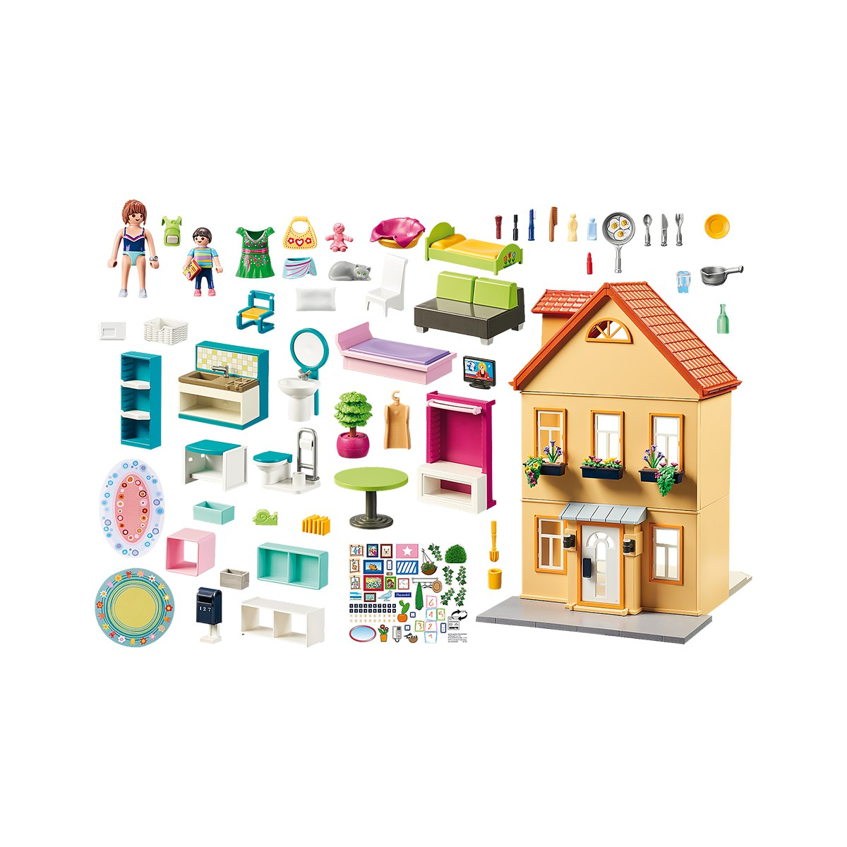 PLAYMOBIL MY PRETTY PLAY-HOUSE 70014