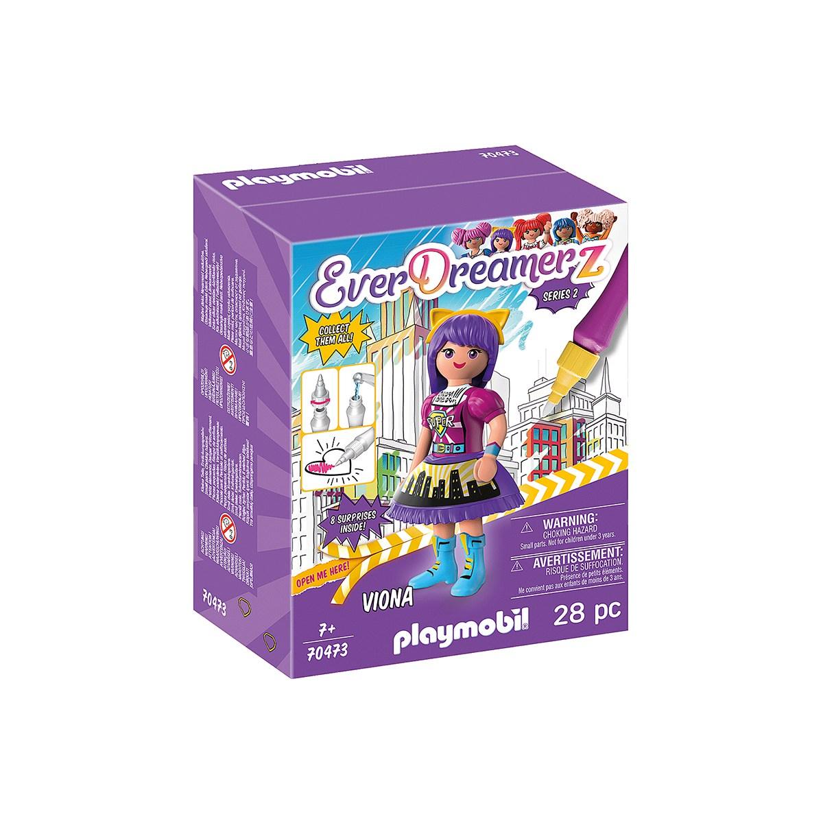 PLAYMOBIL BIONA COMIC WORLD 70473