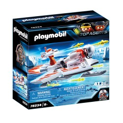 PLAYMOBIL ICE JET ΤΗΣ SPY TEAM 70234