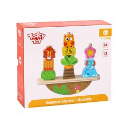 TOOKY TOYS ΞΥΛΙΝΑ ΖΩΑΚΙΑ ΙΣΟΡΡΟΠΙΑΣ TY278A